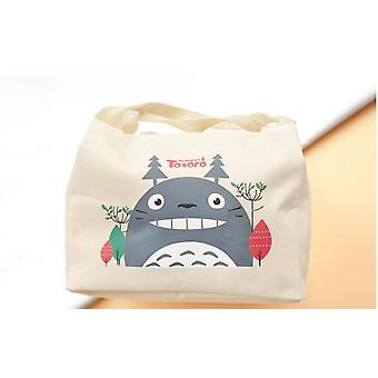Cute Lunch Handbag Food Tote Pouch Box Keep Warm