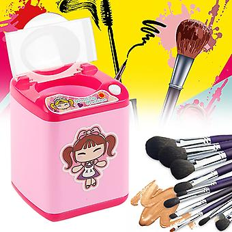 Mini Washing Machine Makeup Brush Cleaning Tool Cleaner Device Automatic Cleaning Mini Toy for kid