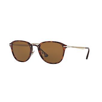 Persol Calligrapher Edition PO3165S 24/57 Havana/Polarised Brown Sunglasses