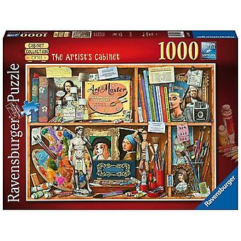 Ravensburger Jigsaw Puzzle The Artist's Cabinet 1000 pieces