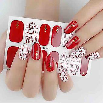 Touch Of Sparkle Gel Nail Wraps