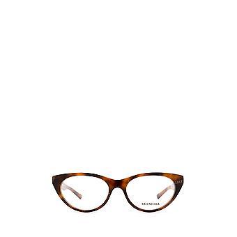 Balenciaga BB0079O havana female eyeglasses