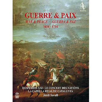 Guerre & Paix / Savall, Jordi - krig & fred 1614-1714 [SACD] USA import
