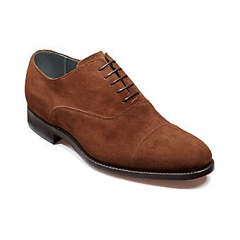 Barker Winsford - Castagnia Suede - 12 | Mens Handmade Leather Oxford | Barker Shoes