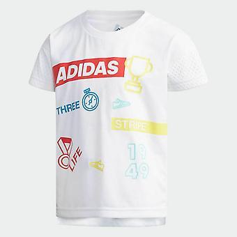 Adidas Baby Girls  Graphic T-Shirt  DW4079