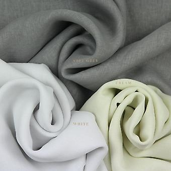 Mcalister tekstylia pęd voile srebrny szary kurtyna tkaniny próbki