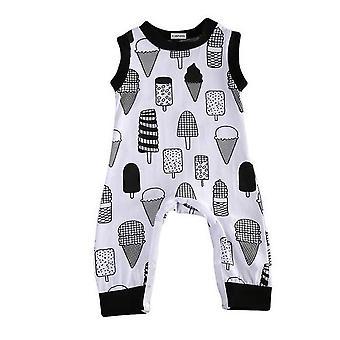 Vauva Pojat Jäätelö Pattern Romper