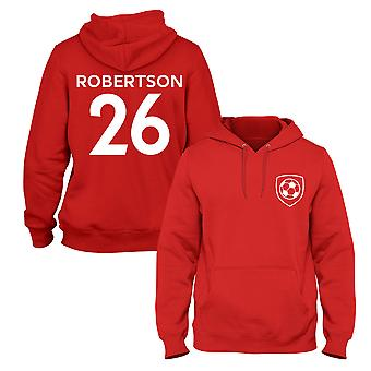 Andrew Robertson 26 Liverpool Style Spieler Fußball Hoodie
