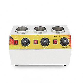 Bottles Warmer Hot Cheese Chocolate Jam 3 Bottles Warming Machine Dispenser