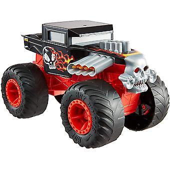 Hot Wheels Monster Trucks Double Troubles Bone Shaker Toy Car 1:24