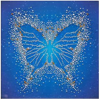 VDV Free Form Bead Embroidery Kit - Butterfly