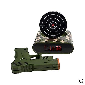 Creative Lazy Led Display Digital Mute Infrared Induction Target Shooting
