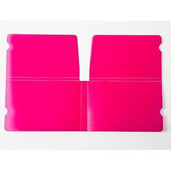 Beskyttelse plastfolie vaskbar maskeholder-taske