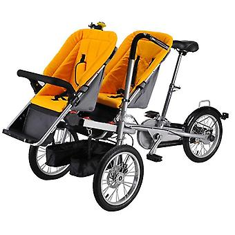 Adult Bikes, Foldable, Loaded Into The Car, Trunk, Twins Parent-child Bike,