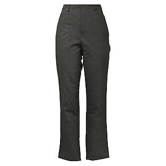 Gloria Vanderbilt Women's Pants High Rise Stretch Amanda Ponte Pant Gray