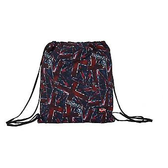 Backpack with strings blackfit8 flags