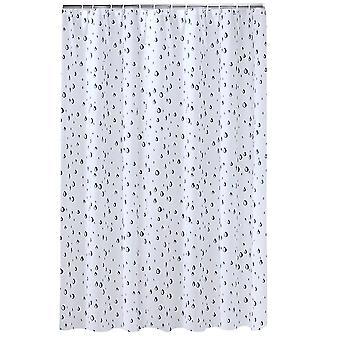 Water Drop Pattern shower curtain 180x180cm