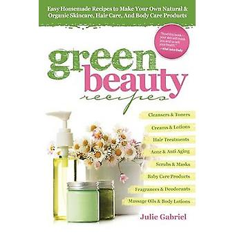 Green Beauty Recipes - Easy Homemade Recipes to Make Your Own Natural