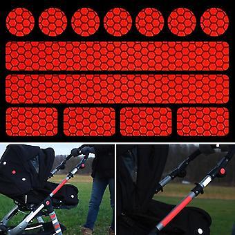 Reflecterende sticker voor kinderwagens, fietshelmen