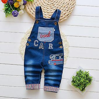 Children's Denim Overalls Jeans Pants, Baby Trousers