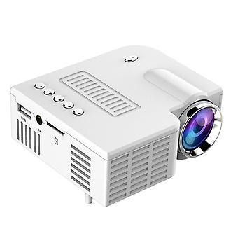 Uc28c Led Abs Usb kannettava video projektori kotiteatteri