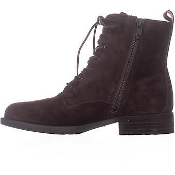 Born Womens Remy Leather Closed Toe Ankle Combat Boots
