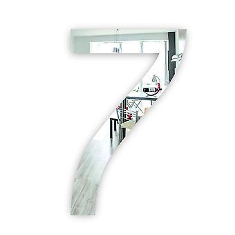 Numero 7 SEVEN Kaviaarifontti Akryylipeili tai musta akryyliovimerkki