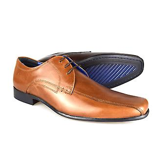 Red Tape Munster Tan Men's Leather Formal Lace-Up Shoes