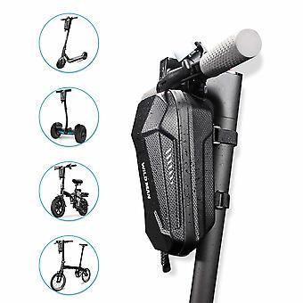 Säilytyslaukku autolle, sähköpotkulaudalle, pyörälle, mönkijälle, mönkijävaa'| Sähköpotkulauta, ohjaustangon kantolaukku, EVA iskunkestävä laukku, musta-3L