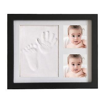 Baby Hand, Footprint Photo Picture Frame Kit, Moldes de arcilla, Newborns Kids Diy
