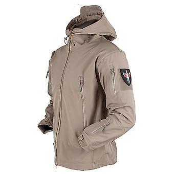 Army Shark Skin Soft Shell Jacket Tactical Windproof Waterproof