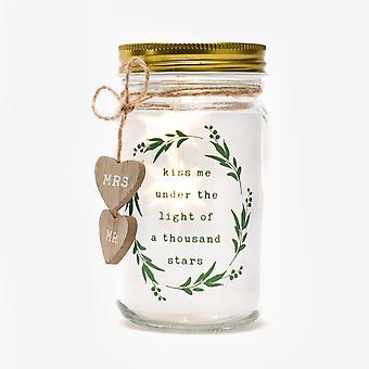 Widdop Hochzeit Themen Licht auf Jar