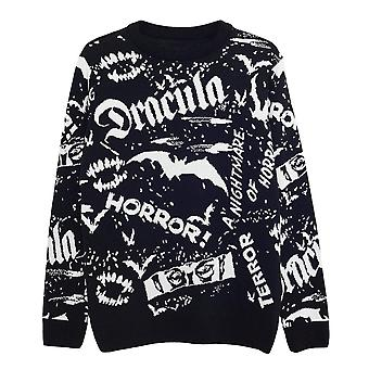 Universal Monsters Mens Dracula Knitted Jumper