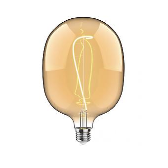 Classic Style Led Type M E27 Dimmable 220-240v 4w 2100k, 200lm, Amber Finish