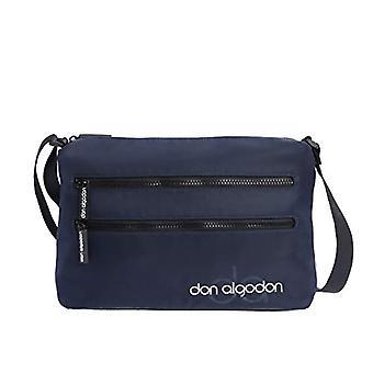 Don Algod n Zita Women's Bag, 30 x 9.5 x 19 cm Blue Size: 30 x 9.5 x 19 cm