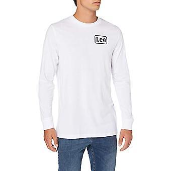 Lee LS Stripe T-Shirt, White (White 12), XX-Large Men