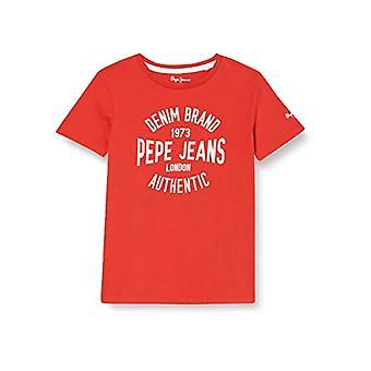 Pepe Farkut Jack T-paita, 244mars Punainen, 8 Miesten