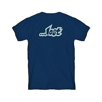 Lost Lost Planet Short Sleeve T-Shirt in Navy