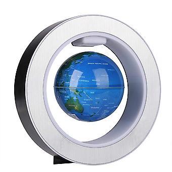 FengChun Magnetischer Globus mit rotierendem Globus der Weltkarte, leichte LED-Dekoration