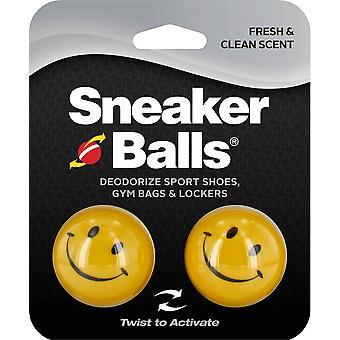 Sneakerballs Shoe Fresheners- Happy Face