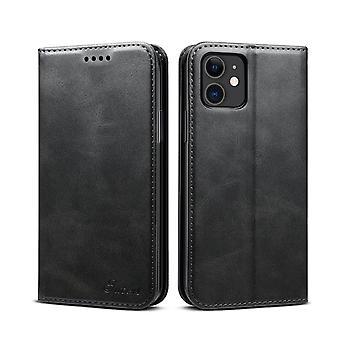 Slot per carte custodia in pelle portafoglio per iphone xs nero pc228