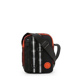 Bikkembergs - Bags - Shoulder bags - E4APME1A0012999-Black - Men - black,orange
