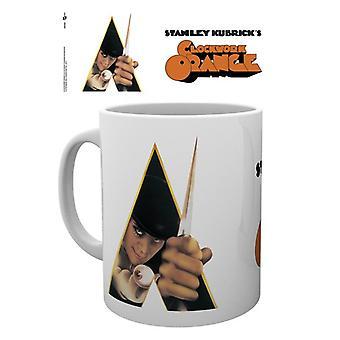 Clockwork Orange Keyart White Mug