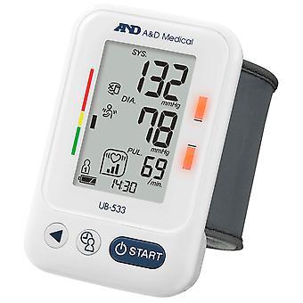 A&D Medical UB533 Wrist Blood Pressure Monitor