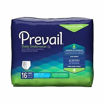 Första kvalitet Unisex Vuxna Absorberande Underkläder Segra Dra på med tear away sömmar Stor engångs tung absorbera, vit fodral på 64