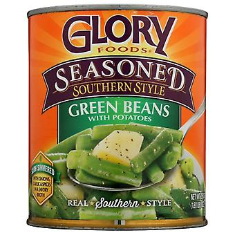 Glory Foods Bean String & Pto Ssnng, Case of 12 X 27 Oz