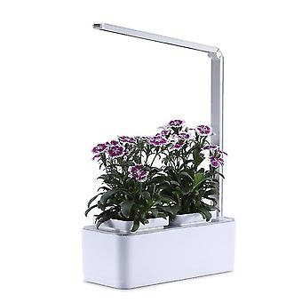 Vemix Indoor Hydroponic Desk Lamp, Herb Garden Kit, Multifunction Smart Flower And Vegetable Growth