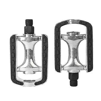 Koolmei Aluminum Alloy Bike Pedals Reflective Strip Cycling Pedals