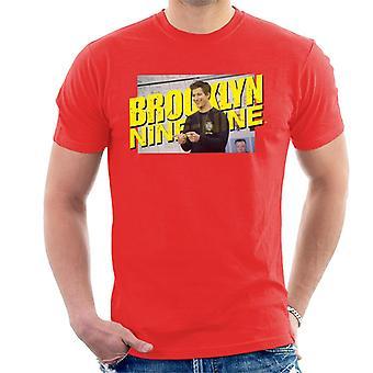 Brooklyn Ni-Ni Jake Peralta Herre T-skjorte