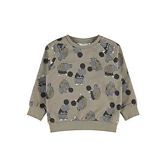 Name-it Jongens Sweater Nasonny Stone Gray
